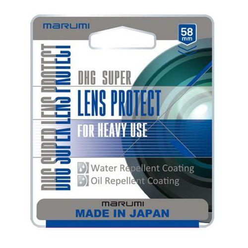 super dhg filtr fotograficzny lens protect 58mm marki Marumi