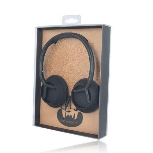 Zestaw słuchawkowy Forever CM-400 czarny