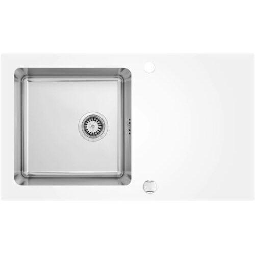 Zlewozmywak DEANTE PALLAS ZSP0W2C SATYNA (krawędź DIAMENT), kolor stalowy