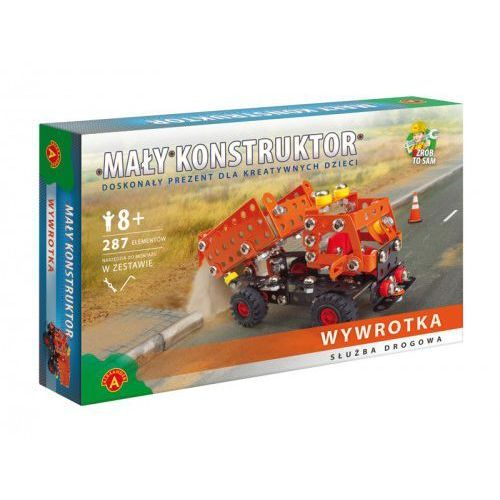 Mały konstruktor służba drogowa - Wywrotka (5906018012071)