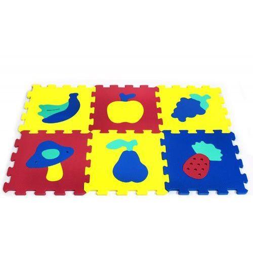 Artyk 6 el. puzzle piankowe owoce (5901811107764)