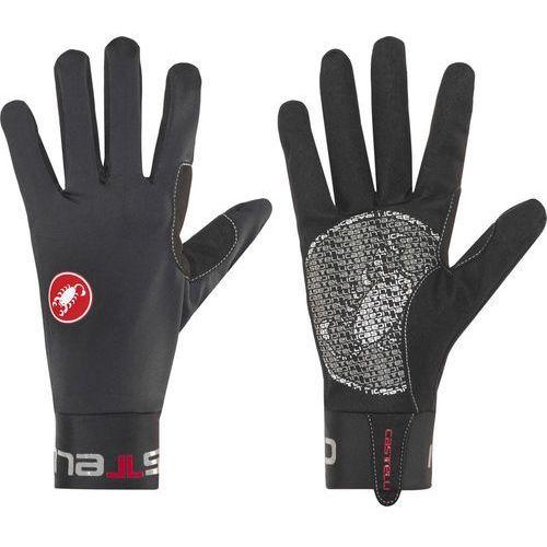 lightness rękawiczka rowerowa mężczyźni czarny s 2018 rękawiczki zimowe marki Castelli