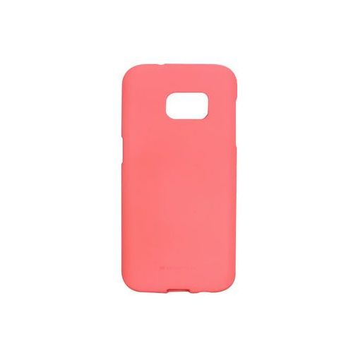 Samsung galaxy s7 - etui na telefon soft feeling - różowy marki Mercury goospery
