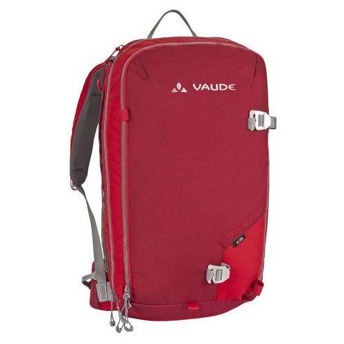 VAUDE ABScond Flow 22+6 Plecak lawinowy czerwony Plecaki lawinowe
