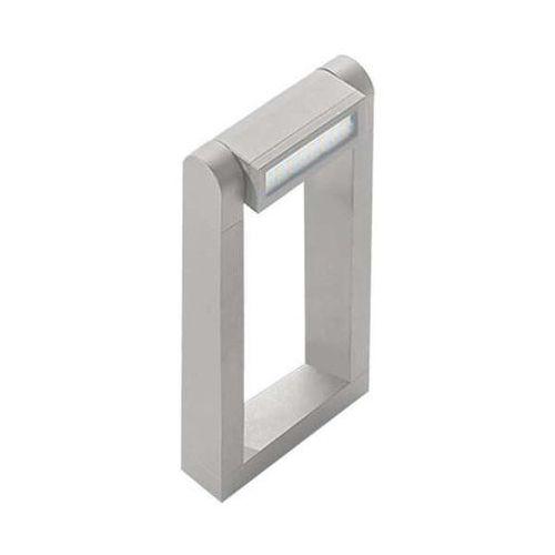 Stojąca lampa zewnętrzna frame 70 a-700-bgr prostokątna oprawa ogrodowa led 8w ramka outdoor ip54 jasnoszara marki Azzardo