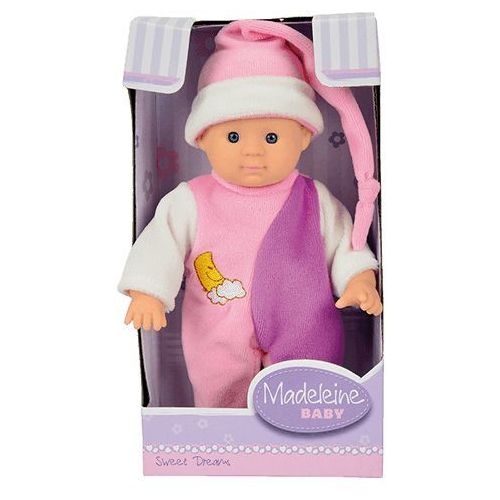 Simba  lalka madeleine 20 cm w piżamce, różowa