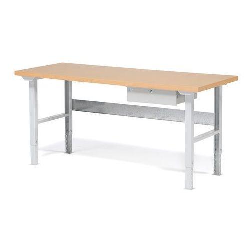 Stół warsztatowy ROBUST, z szufladą, 800x2000 mm, 232112
