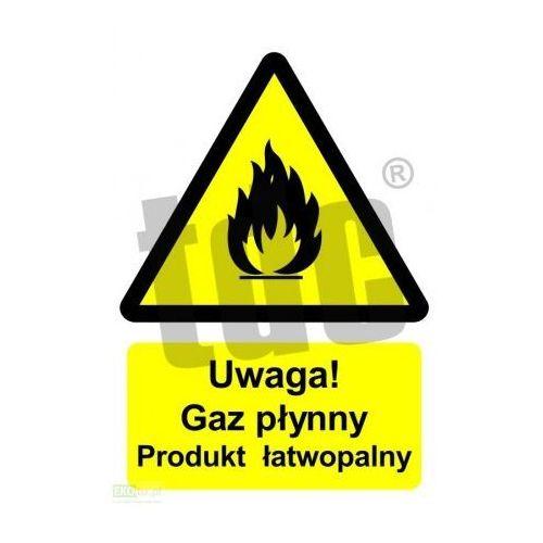 Uwaga! Gaz płynny - produkt łatwopalny Art. BC002, 528