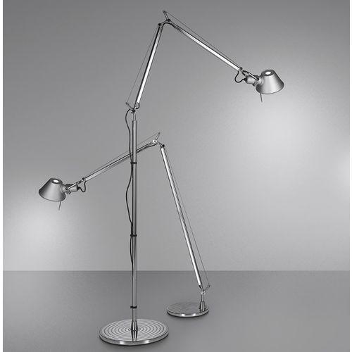Artemide Lampa podłogowa tolomeo aluminium