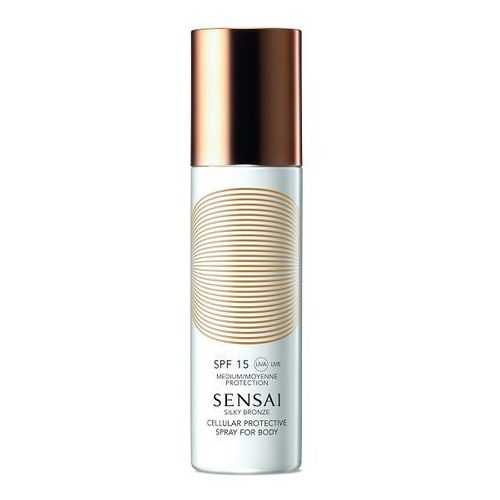 Sensai  silky bronze mleczko do opalania spf 15 (cellular protective spray for body) 150 ml (4973167938140)
