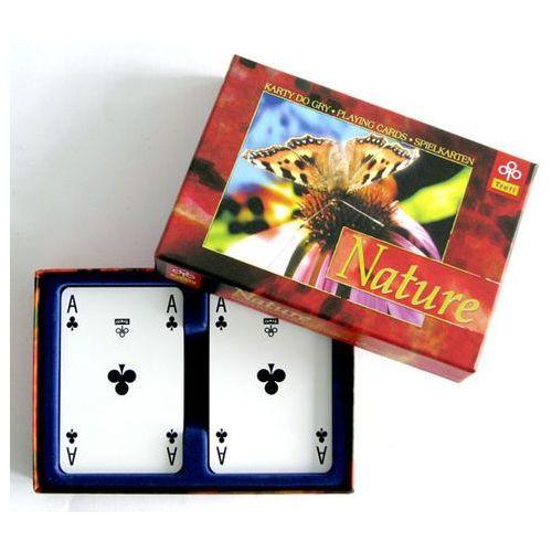 Karty TREFL Karty do Gry 2 x 55 Listków Nature (gra karciana)