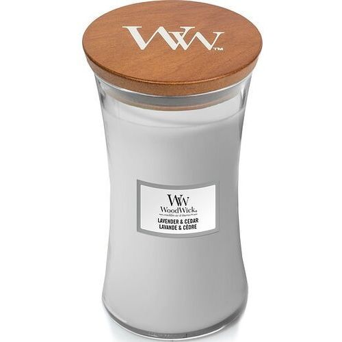 Woodwick Świeca core lavender & cedar duża (5038581103068)