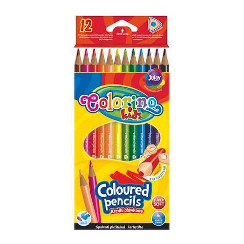Kredki Patio Colorino Kids trójkątne 12 kol x1