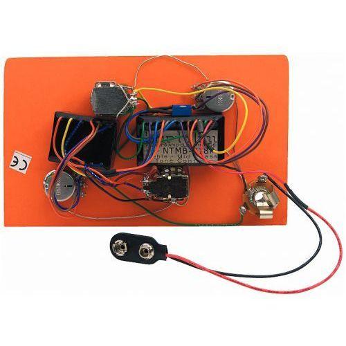Bartolini HR-2.5AP/918 - Pre-Wired Active/Passive Preamp, 3-Band EQ