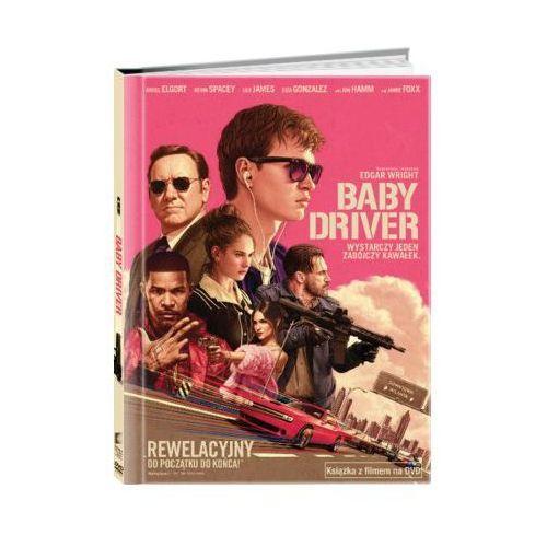 Baby Driver (Książka + DVD) - Edgar Wright. DARMOWA DOSTAWA DO KIOSKU RUCHU OD 24,99ZŁ (5903570160141)