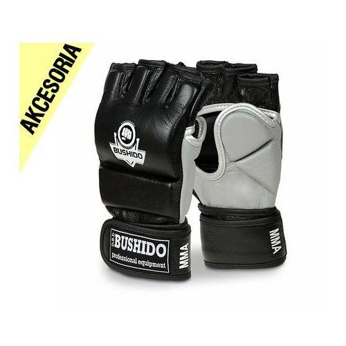 Skórzane rękawice treningowe do mma, krav magi - m bushido akcesoria marki Kelton
