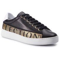 Versace Sneakersy collection - v900745 vm00470 va90h nero/bianco/nero/oro
