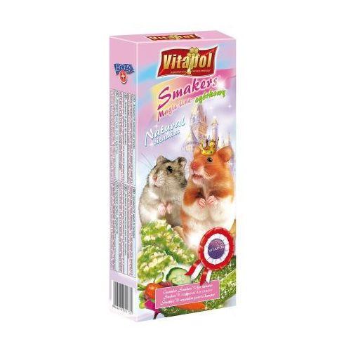 Vitapol Smakers z ogórkiem magic line kolby dla chomika 2sztuki/90g