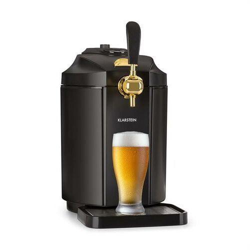 Klarstein Skal dystrybutor piwa dozownik schładzacz piwa 5l beczki CO2 stal nierdzewna czarny