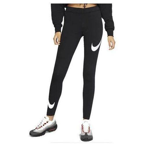 Legginsy damskie Nike Legasee Swoosh czarne CJ2655 013