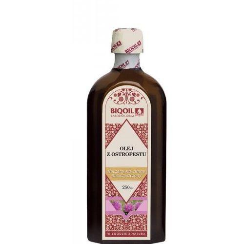 Olej z ostropestu tłoczony na zimno 250ml marki Biooil. Tanie oferty ze sklepów i opinie.