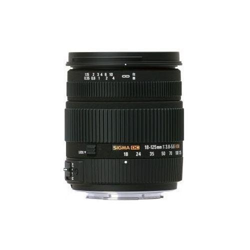 18-125 mm f3.8-5.6 dc hsm uv obiektyw z filtrem mocowanie sony a marki Sigma