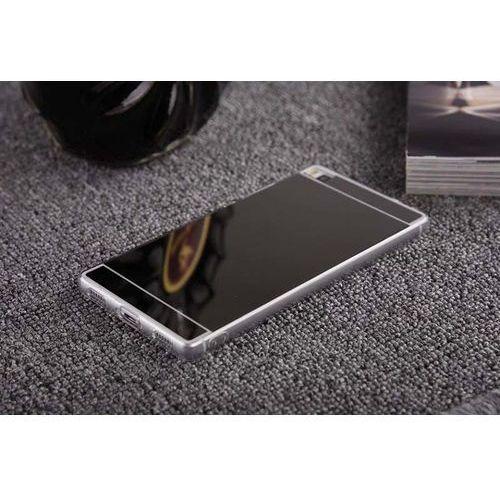 Slim mirror  case czarny | etui dla huawei p8 lite - czarny