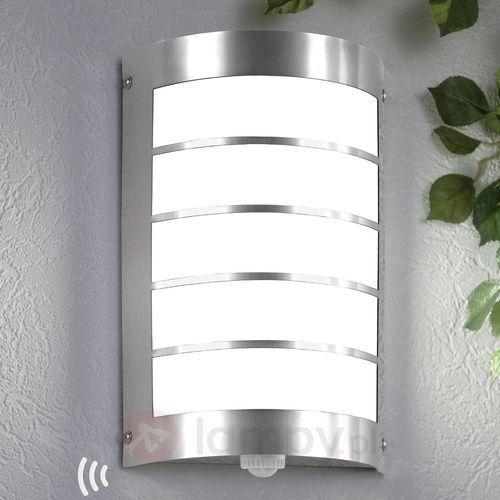 Cmd creativ metalldesign gmbh Lampa ścienna zewnętrzna marco1 z czujnikiem