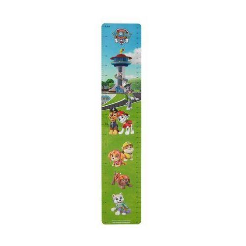 Naklejka dla dzieci Miarka wzrostu Psi Patrol 20 x 50 cm