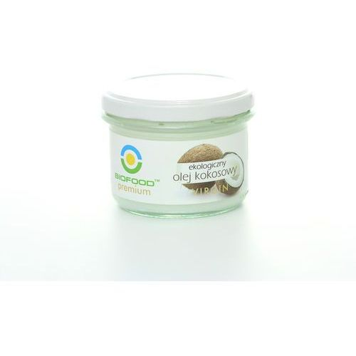 Olej kokosowy virgin BIO 180ml - Bio Food (5907752683909)
