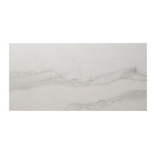 Colours Gres ultimate marble 37,5 x 75 cm biało-szary polerowany 0,83 m2