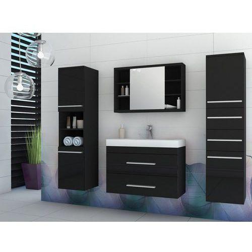 Komplet marylin - meble łazienkowe - czarny marki Shower design