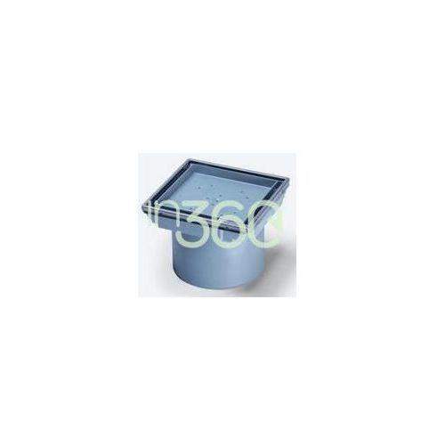 system 100 nasadka wpustu z tworzywa szutcznego z ramą ze stali nierdzewnej 27211 marki Kessel