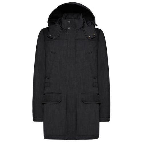 płaszcz męski winfred 50, ciemnoszary marki Geox