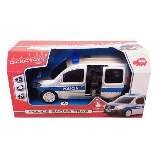 Samochód policyjny SOS z radarem (4006333045165)