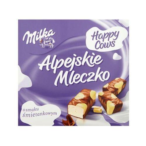 Milka 330g alpejskie mleczko łaciate happy cows marki Mondelez