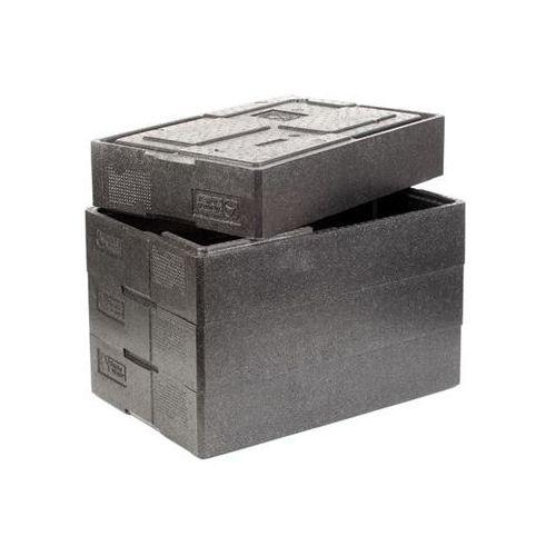 Pojemnik termoizolacyjny | czarny | różne wielkości