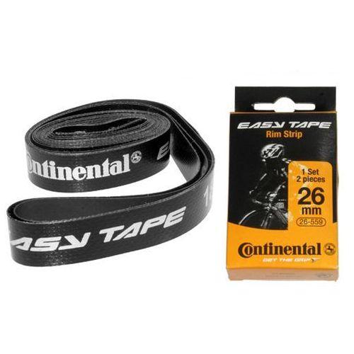 """Continental Co0195009 ochraniacz dętki/taśmy continetnal easy tape 26"""" 26-559 zestaw 2 szt. (4019238445138)"""