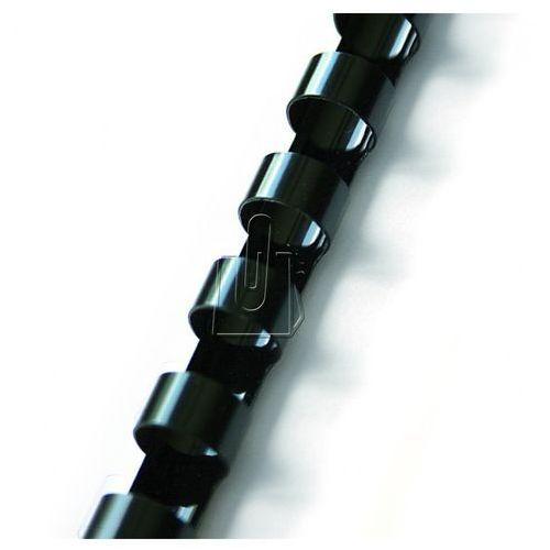 Argo Grzbiety do bindowania 19mm czarne 100 szt.
