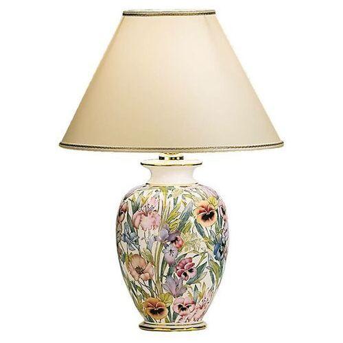 KOLARZ Giardino Panse kwiatowa lampa stołowa 30 cm