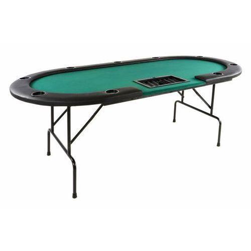 OKAZJA - Profesjonalny składany stół do gry Poker dla 10 osób
