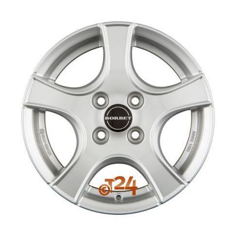 Felga aluminiowa Borbet F2 14 5,5 4x98 - Kup dziś, zapłać za 30 dni
