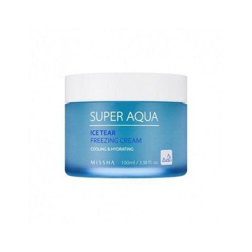 super aqua ice tear cream (w) lekki nawilżający krem do twarzy 50ml marki Missha