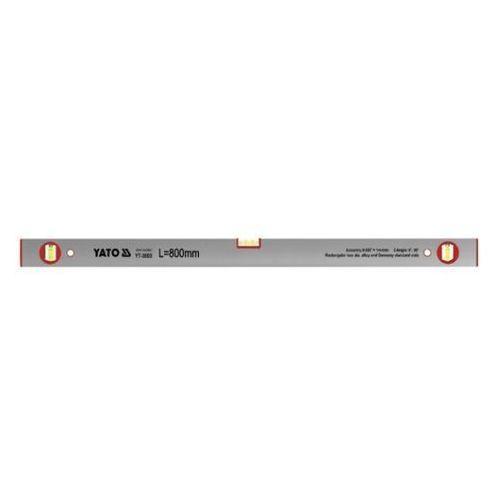 Poziomnica aluminiowa, 3 libelki 800 mm Yato YT-3003 - ZYSKAJ RABAT 30 ZŁ, YT-3003