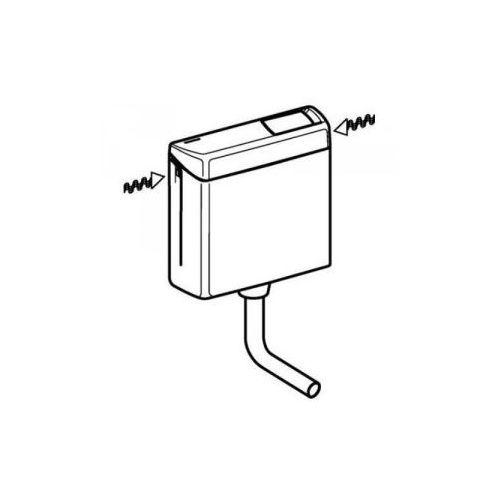 Geberit ap123 - spłuczka nisko zawieszona, biały-alpin 123.105.11.1