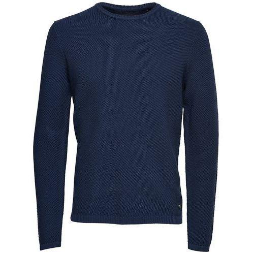 Sweter z dzianiny o drobnym splocie, kolor czarny