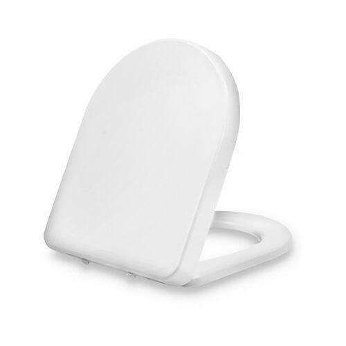 Dombach senzano, deska sedesowa, kształt d, wolnoopadająca, antybakteryjna, biała (4260611290016)