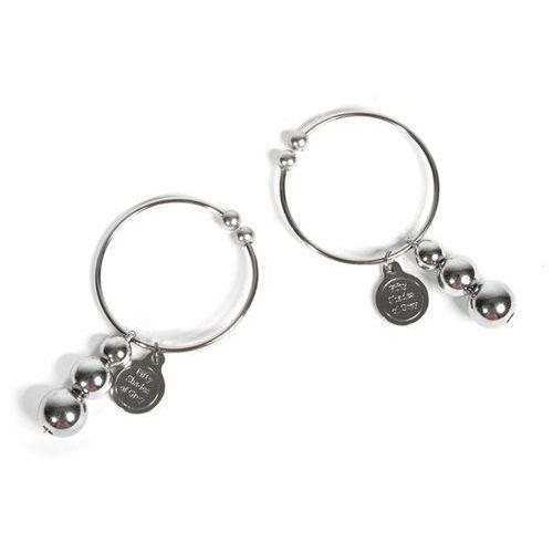 Sexshop - 50 twarzy greya - kolczyki do sutek pleasure pain nipple rings - online marki 50 shades of grey