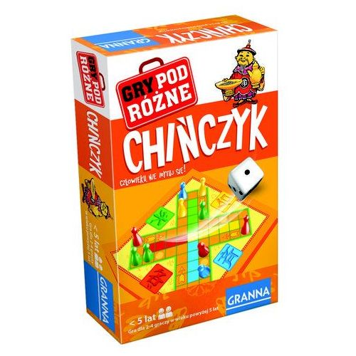 gra chińczyk podróżna marki Granna