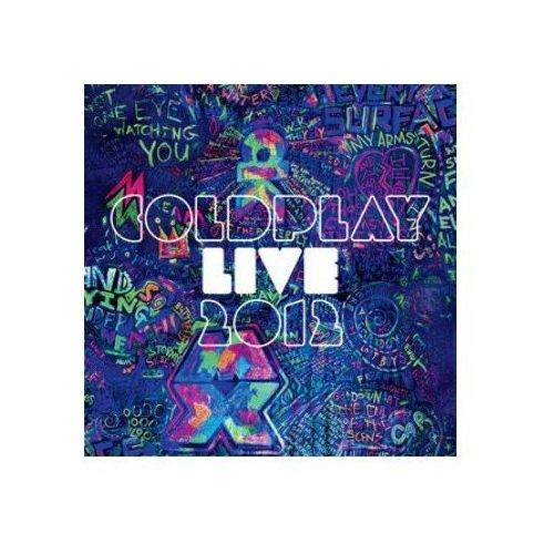 Warner music Coldplay - live 2012 (cd+dvd)